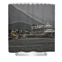 Hazy Day In Paradise  Shower Curtain