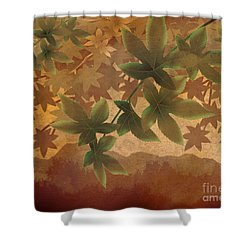 Hazy Shades - Morning Version Shower Curtain by Bedros Awak