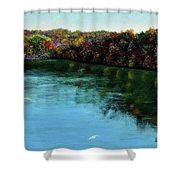 Hdemo1 Shower Curtain