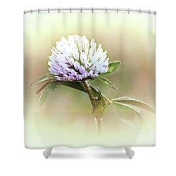 He Loves Me... Shower Curtain