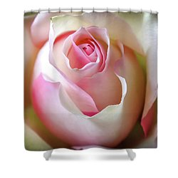 Shower Curtain featuring the photograph He Loves Me Still by Karen Wiles
