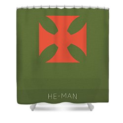 He Man My Favorite Tv Shows Series 010 Shower Curtain