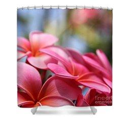 He Pua Lahaole Ulu Wehi Aloha Shower Curtain by Sharon Mau
