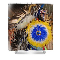 Head Dress Shower Curtain