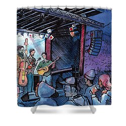 Head For The Hills At The Mish Shower Curtain
