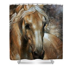 Head Horse 2 Shower Curtain by Arthur Braginsky