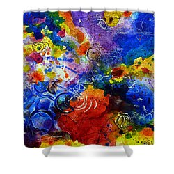 Head Over Feet Shower Curtain