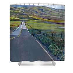 Heading For The Hills Shower Curtain