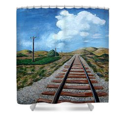 Heading West Shower Curtain