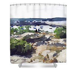 Headlands Shower Curtain