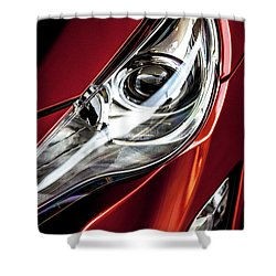Shower Curtain featuring the photograph Headlight by Eric Christopher Jackson