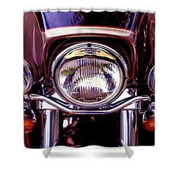 Shower Curtain featuring the photograph Headlights by Samuel M Purvis III