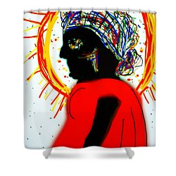 Headscarf Shower Curtain