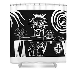 Healers Shower Curtain