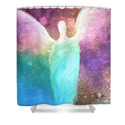 Healing Angels Shower Curtain