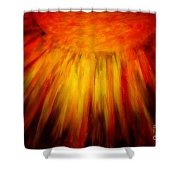 Healing Balm Shower Curtain by Roberta Byram