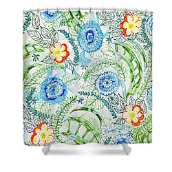 Healing Garden Shower Curtain