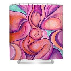 Healing Goddess Shower Curtain