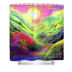 Healing Light Shower Curtain