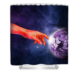 Healing Touch Shower Curtain