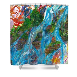 Healing Waters Shower Curtain