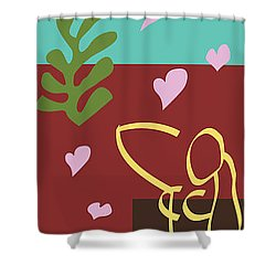 Health - Celebrate Life 3 Shower Curtain