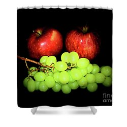 Healthy 1-8 Shower Curtain