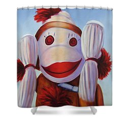 Hear No Bad Stuff  Shower Curtain