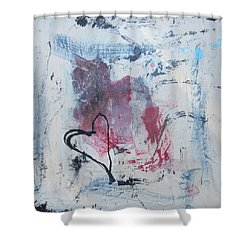 Heart 2 Shower Curtain