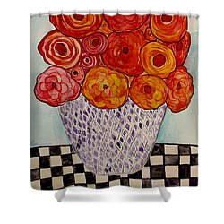 Heart And Matter Shower Curtain