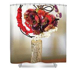 Heart Art Shower Curtain