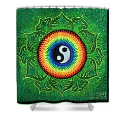 Heart Chakra Shower Curtain