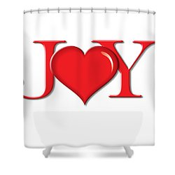 Heart Joy Shower Curtain