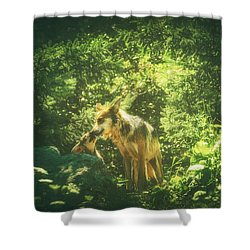 Heart Mother Shower Curtain