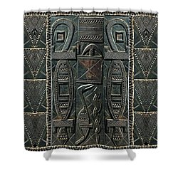 Heart Of Africa Shower Curtain