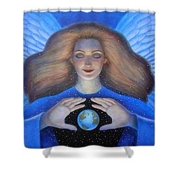 Heart Of Creation Shower Curtain