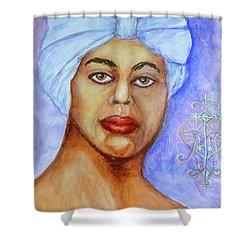 Heart Of Love  Marie Laveau Shower Curtain