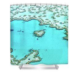 Shower Curtain featuring the photograph Heart Of The Reef by Az Jackson