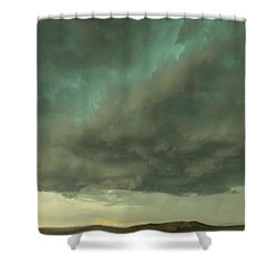 Heart Of The Storm Shower Curtain
