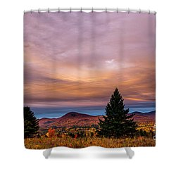 Heart Opeing In The Sky Shower Curtain