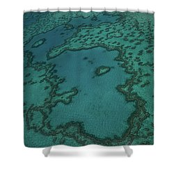 Heart Reef Shower Curtain