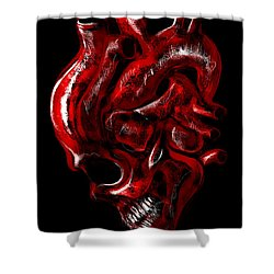 Heartache Shower Curtain