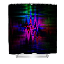 Heartbeat Shower Curtain