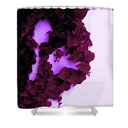 Shower Curtain featuring the photograph Heartbreak by Vanessa Palomino