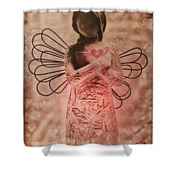 Heartfelt Shower Curtain