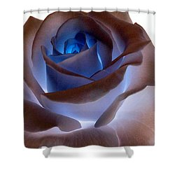 Heartglow Rose Shower Curtain