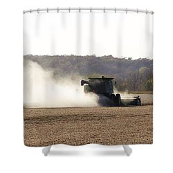Shower Curtain featuring the photograph Heartland Harvest  by J L Zarek