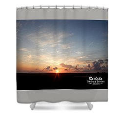 Hearts In The Distance Shower Curtain