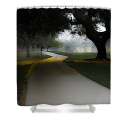 Heartwell Park Shower Curtain