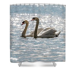 Heather And Keith Shower Curtain